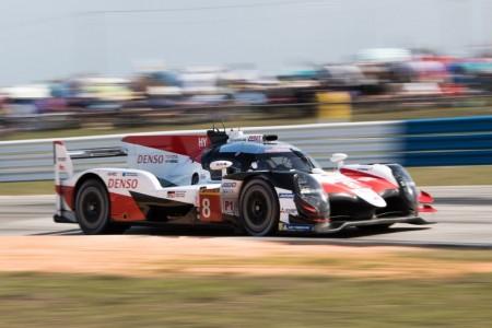Los pilotos del Toyota #8 son más líderes tras Sebring
