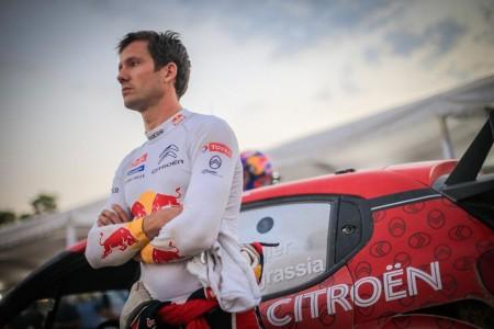 La suerte se alía en el Rally de México con Sébastien Ogier