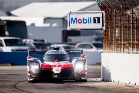 Toyota supera el récord de Sebring en el test del WEC