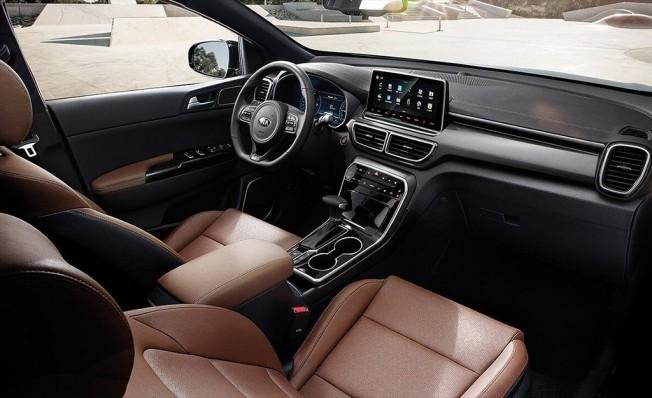 Kia KX5 - interior