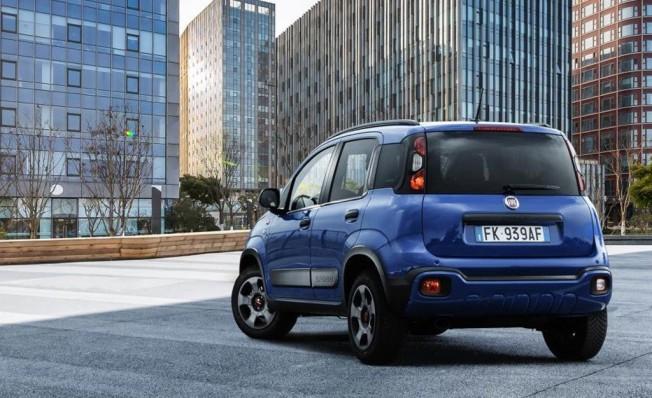 Fiat Panda Waze - posterior