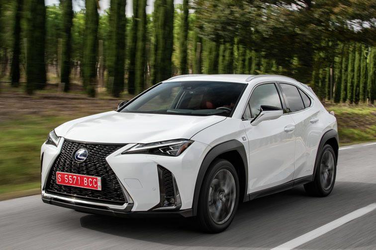 Prueba Lexus UX 250h 2019