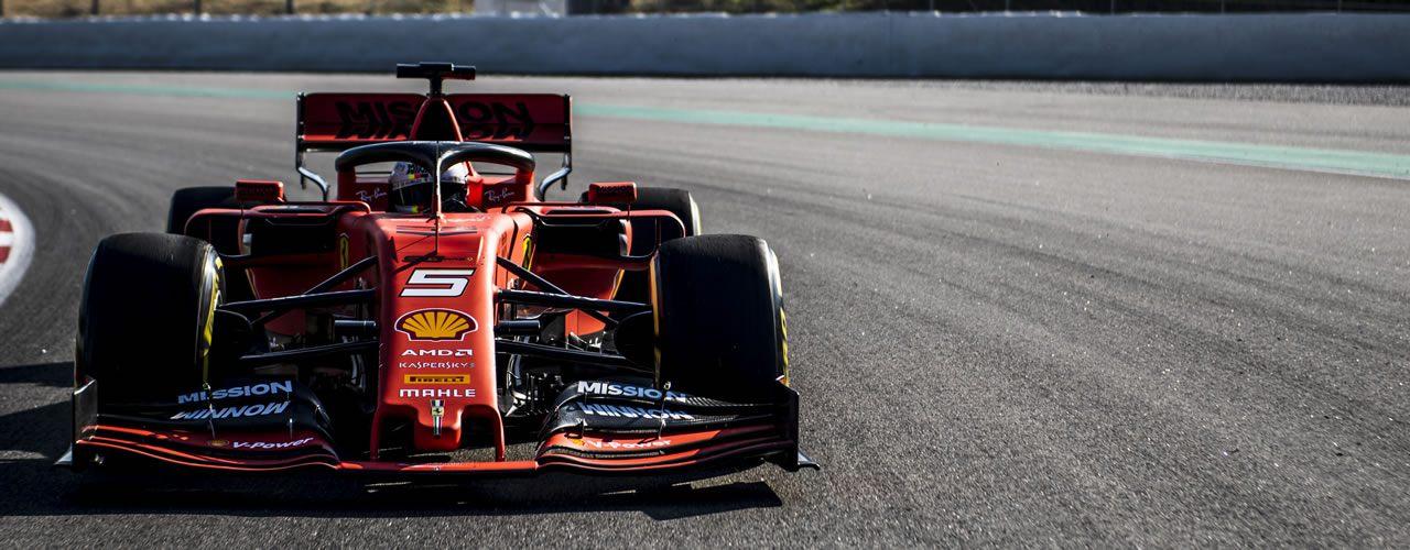 Test pretemporada F1 2019