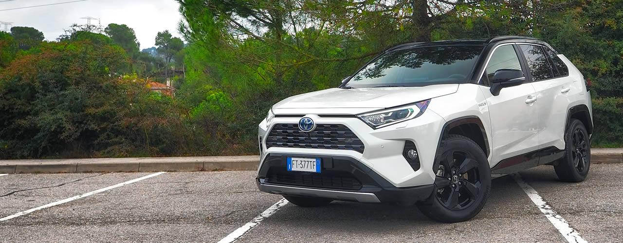 Prueba Toyota RAV4 Hybrid SUV 2019