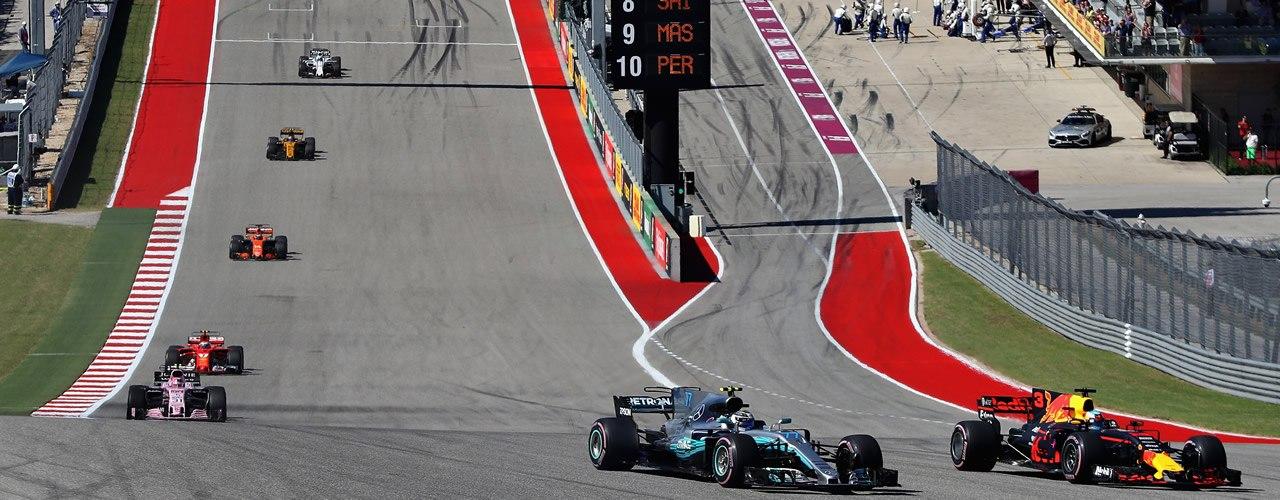 GP de F1 de Estados Unidos 2018 en directo, Austin