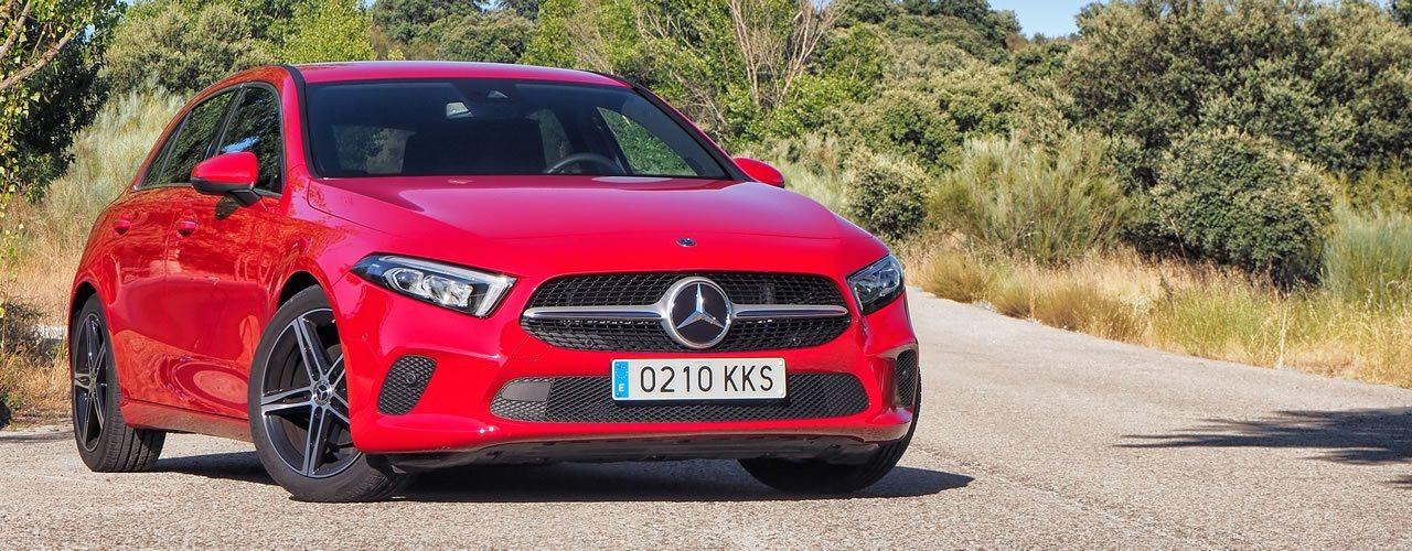 Prueba Mercedes Clase A 180d