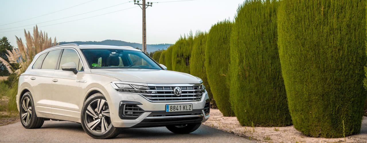 Prueba Volkswagen Touareg 2018